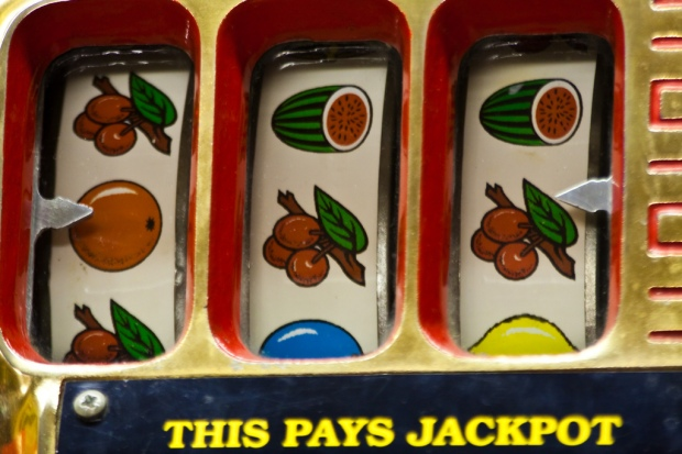 Fruit Machine by Garry Knight