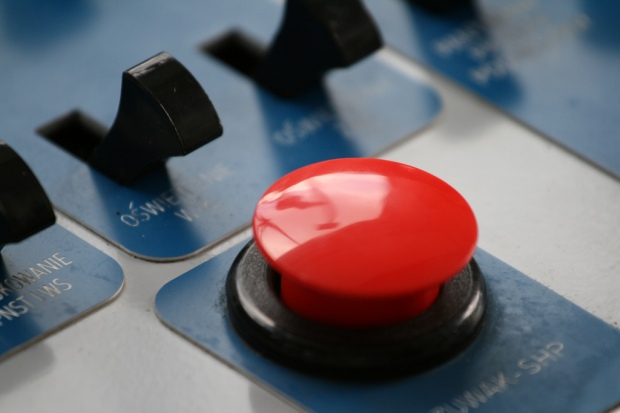 The Big Red Button by Wlodi